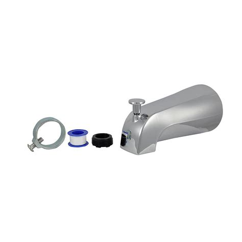 danco diverter tub spout in chrome88703x the home depot
