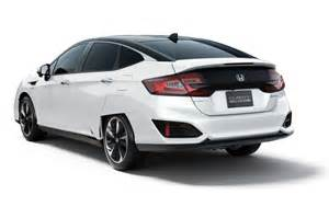 Honda Electric Car Price Honda Will Offer The Clarity Fuel Cell In Electric And