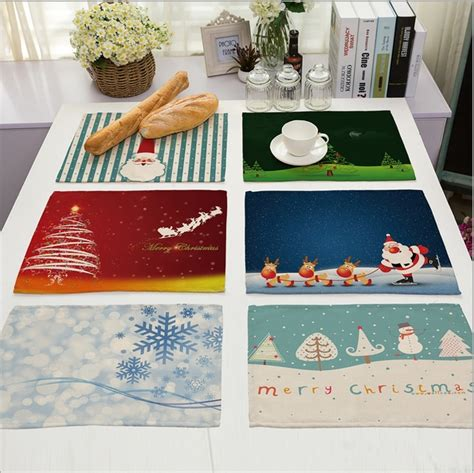 Drafting Table Mat Sale Placemat Cotton Linen Drawing Table Mat Dishware Coasters For Dinner