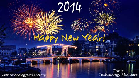 happy new year 2014 technology bloggers