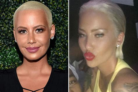 amber rose before hair cut photos amber rose s blonde bob see her hair makeover
