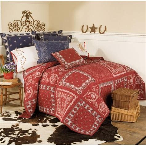 Bandana Patchwork Bedding Bedroom Pinterest