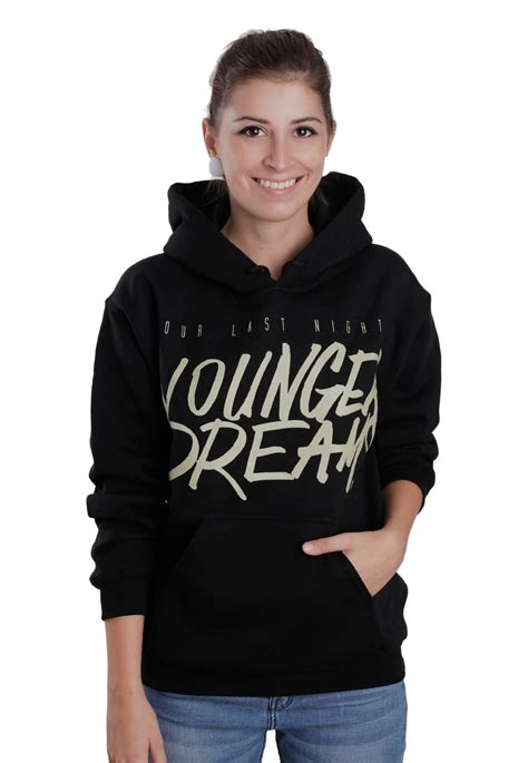 night younger dreams hoodie official emocore merchandise shop impericoncom uk