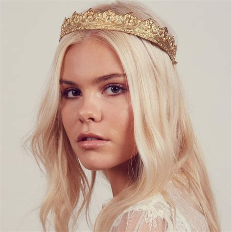 Crown Headband cara metal crown headband by rock n