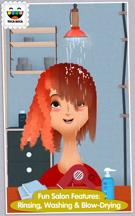 Kid Friendly Hair Style Accessories And Books by Toca Hair Salon 2 1 0 7 Play Apk Android