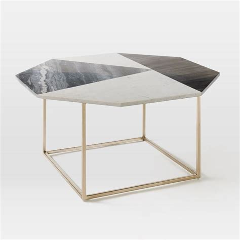 marble coffee table marquetry marble top coffee table