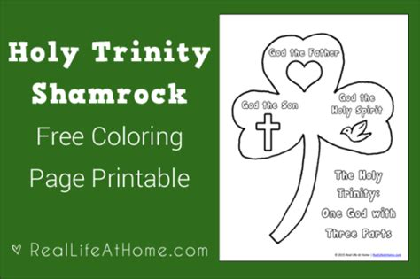 christian shamrock coloring pages st patrick s day resources for toddlers preschoolers and
