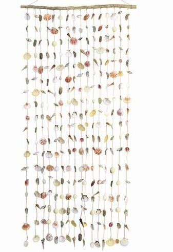 shell door curtains real seashell door curtain shells craft ideas pinterest