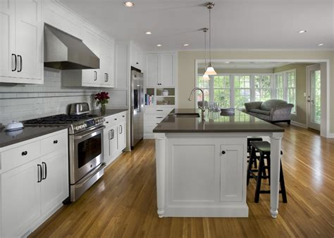 1940 s colonial revival remodel kitchen traditional