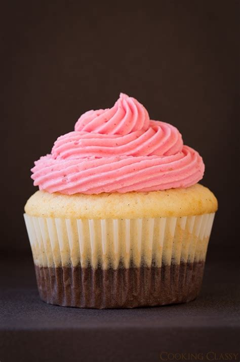neapolitan cupcakes recipe dishmaps