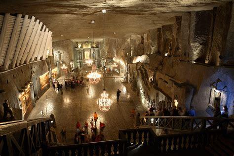 theme park krakow wieliczka salt mine is an incredible polish underground