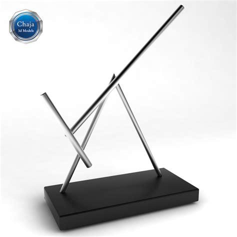 3d kinetic sculpture desk