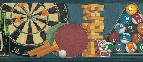 video game wallpaper border game room billiard poker wallpaper border ta39035b ebay