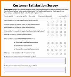 survey results template client satisfaction survey template an excel template for