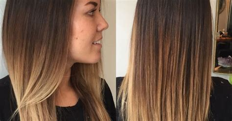 hair styes dye at bottom balayage ombre dark to light brown to blonde hair color