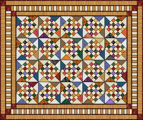 Country Quilt Patterns Free by Thimbles With Quilt Pattern Free Quilt Pattern