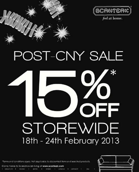 takashimaya post new year sale scanteak post cny sale till 24 feb 2013 singapore