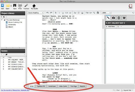 format audio cbr a beginning filmmaker s review of screenwriting software