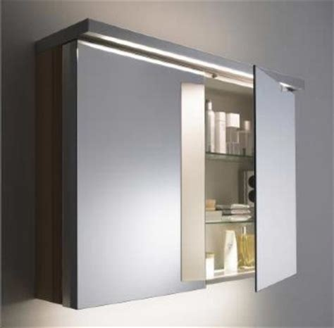 duravit mirrored cabinet modern bathroom mirrors san