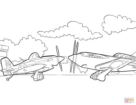 dusty crophopper is a single propeller plane from propwash