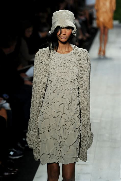 chanel iman runway chanel iman photos photos michael kors runway spring