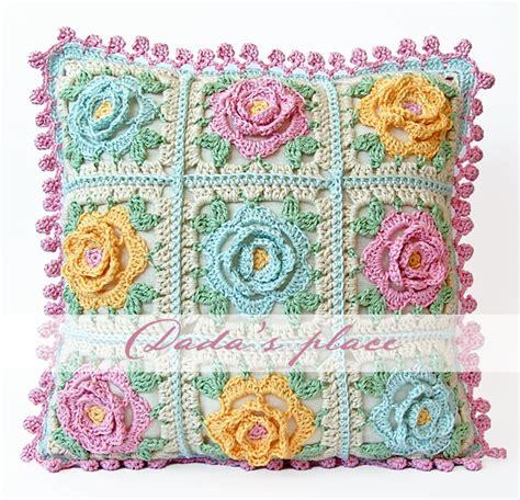 japanese pattern cushions japanese flower crochet cushion dada s place