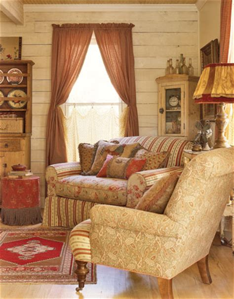 Country Cottage Living Room Furniture Researching 40s Decor