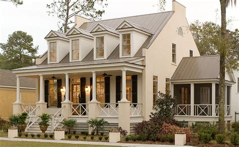 southern low country house plans display