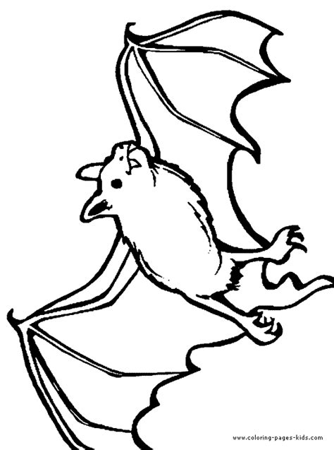 A Flying Fish Coloring Pages Coloring Page Of A Bat