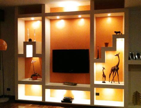 mobili in cartongesso foto mobile in cartongesso soggiorno di impresa edile