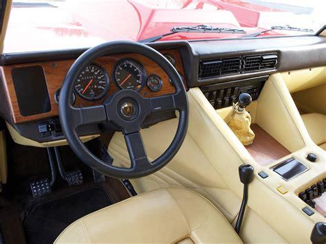 interior lamborghini lm002 america 1986 90