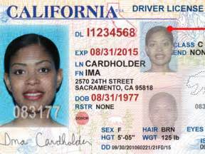 california id template new california drivers licenses id card unveiled 171 cbs