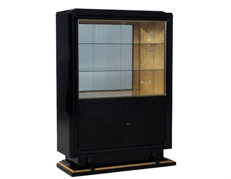 High Gloss Black Cabinets by Black High Gloss Deco Cabinet Carrocel Furniture
