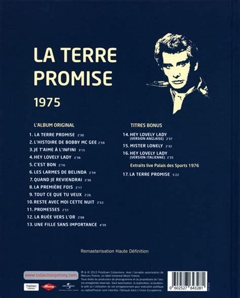 la terre promise film polonais collection johnny hallyday 1975 la terre promise 276432 8