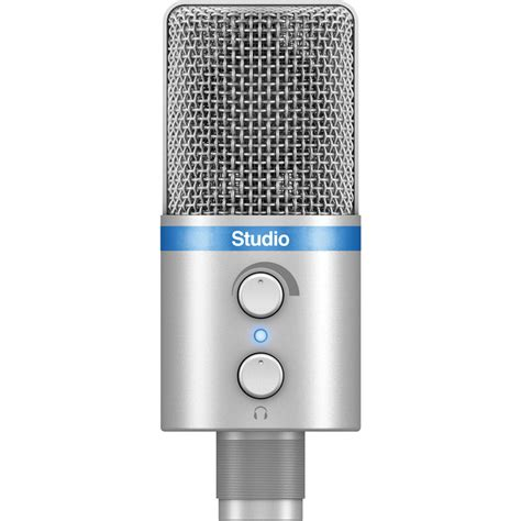 Irig Mic Studio ik multimedia irig mic studio portable ip irig micstdsil in b h
