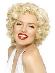 Blonde marilyn monroe wig flingers