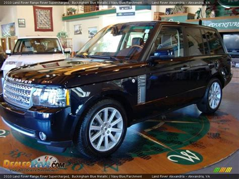 navy range rover 2010 land rover range rover supercharged buckingham blue