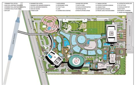 site plan studio 0202 supertech supernova studio apartments in noida