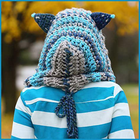 Win Win Crochet Cat Shape Hat ravelry cheshire cat hoodie pattern by fuad