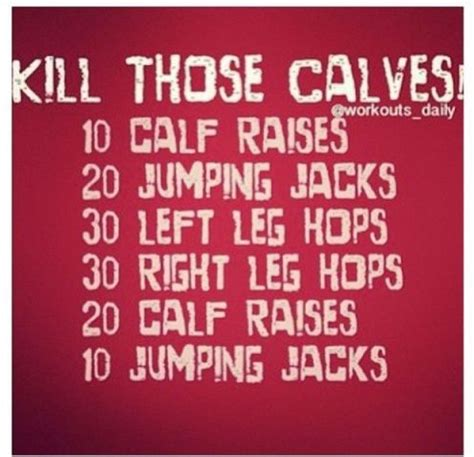 killer calf workout workouts you can do at home