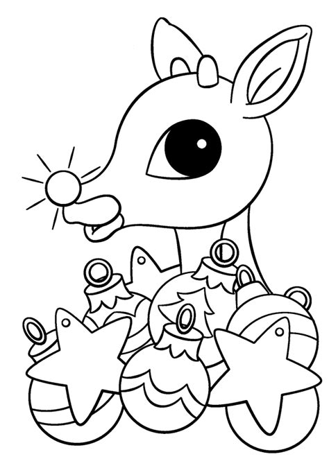 coloring page rudolph free coloring pages of rudolph