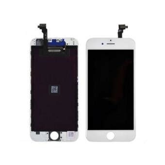 ecran complet lcd vitre tactile chssis pour iphone 6 blanc accessoire pour t 233 l 233 phone