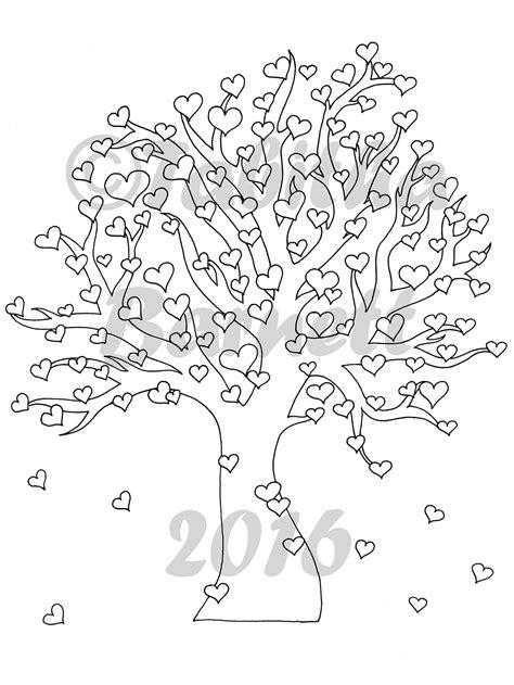 heart tree coloring page heart tree coloring page jpg tabby s tangled art
