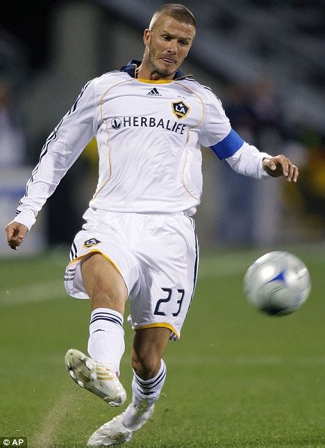 We Missed Beckham by Beckham Could Miss Start Of Season For Galaxy As Milan