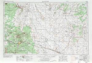 flagstaff topographic map sheet united states 1970