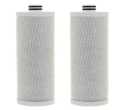 Water Dispenser Qvc set of 2 water filter replacements for aquasana auto