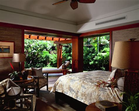 tropical bedroom decor guest house bedroom tropical bedroom hawaii by saint dizier design