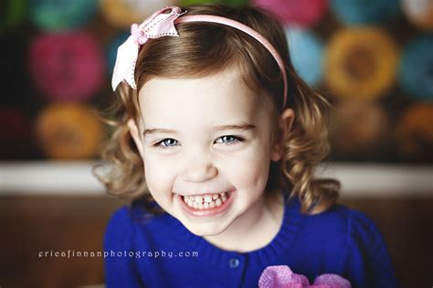 3 yr old typical hair three year old photo session in galion ohio studio