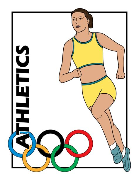 Olympic Athlete Clipart athlets clipart clipground