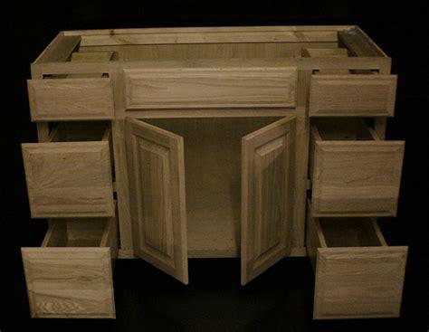 kraftmaid unfinished oak bathroom vanity sink base cabinet 48 quot